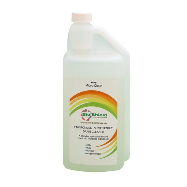 Eco-friendly drain cleaner