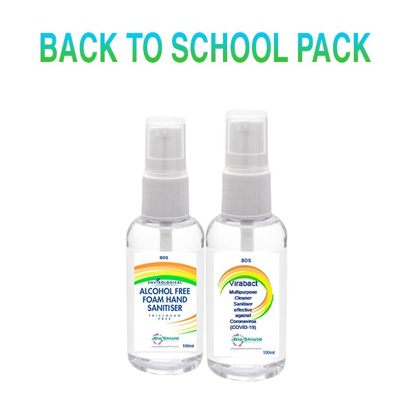 infection control back to school pack