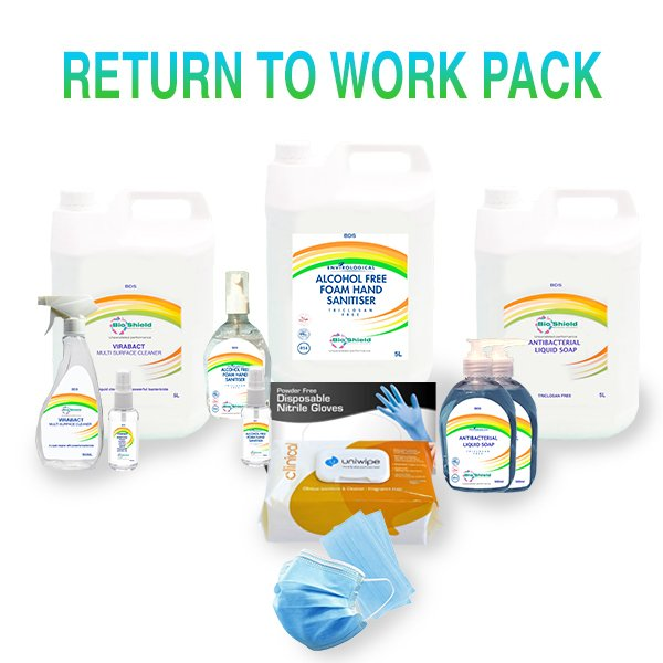 Infection control return to work pack