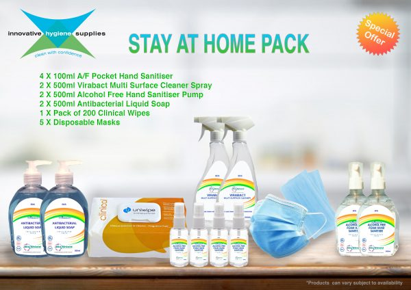 stay at home covid pack